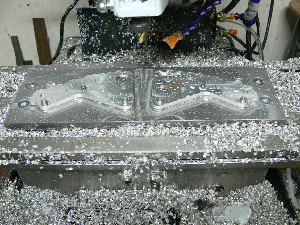 benchtop cnc milling machine in action