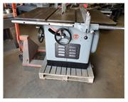 """12""""-14"""" Delta/Rockwell 34-350 Table saw 5hp, 3ph, dual voltage 30"""